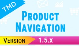 Previous/Next Product Navigation