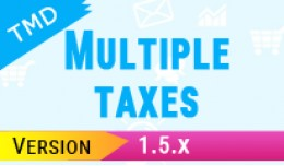 Multiple Taxes module