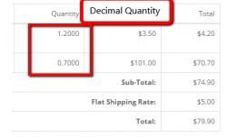 Decimal Quantity/Min Qty - vQmod (15x/2x/3.0)