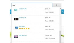 Live Search - Smart Search - Auto Suggest Search