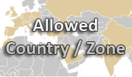 OCMOD - Allowed Countries, States, Regions, Zones