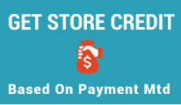 Get Store credit based on payment method