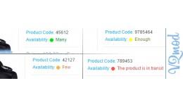 Module «Products Quantity Indicators [VQMod]»