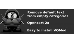 """Remove """"Default text"""" from empty categ.."""