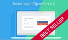 Social Login (Facebook, Google,Twitter, LinkedIn..