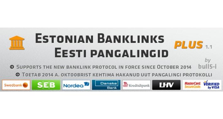 Estonian Banklinks Plus / Eesti pangalingid +