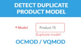 Detect Duplicate Product Model