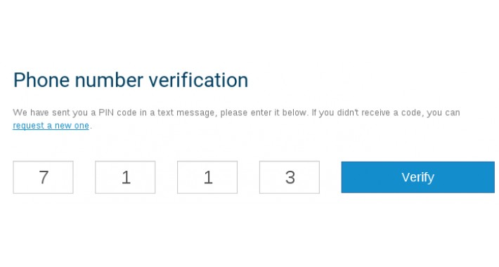 OpenCart - ✓ PVA: Phone Verified Accounts SMS at