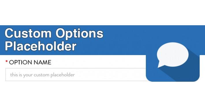 Custom Options Placeholder