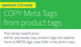 COPY Meta Tags from product tags