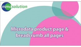 Microdata product page & breadcrumb all pages