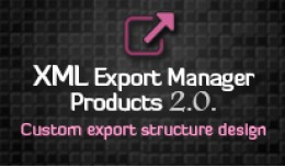 XML Export Manager - Products