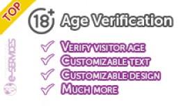 Age Verification Popup-Modal (OcMOD)