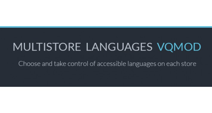Multistore languages VQMOD