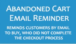 Abandoned Cart Email Reminder
