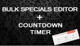 Bulk Specials Editor + The Countdown Timer (OC 2..