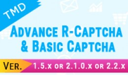 Add and remove captcha each form(1.5.x & 2.x..