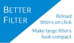 Better Filter - make large filters look compact,..