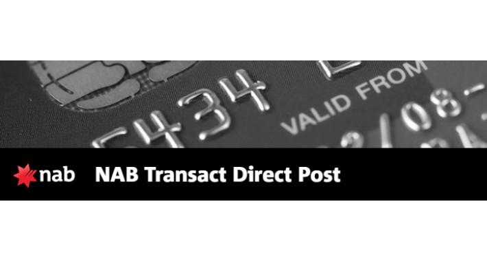 NAB (National Australia Bank) Transact Direct Post
