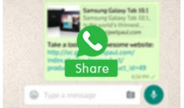 Share your Product on Whatsapp | Share on Whatsapp