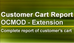 Admin - Customer Cart Report