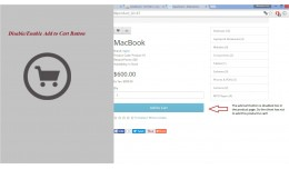 Disable/Enable Add to Cart Button[VQMOD]