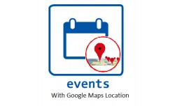 Events Calendar with Google map Locations,Time &..