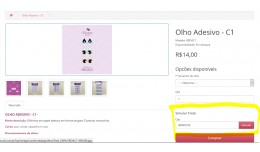 Simulate shipping in product - Frete na pagina d..