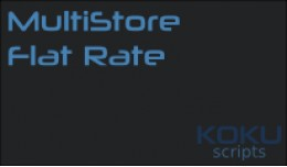 MultiStore Flat Rate