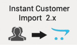 Instant customer import 2.x with new password cr..