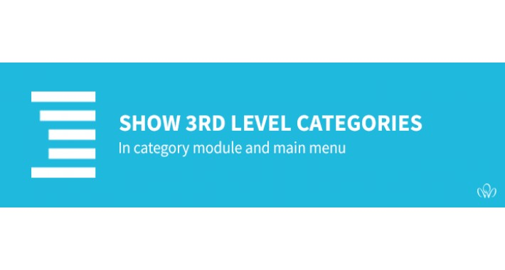 Show 3rd level categories in category module [OCmod]