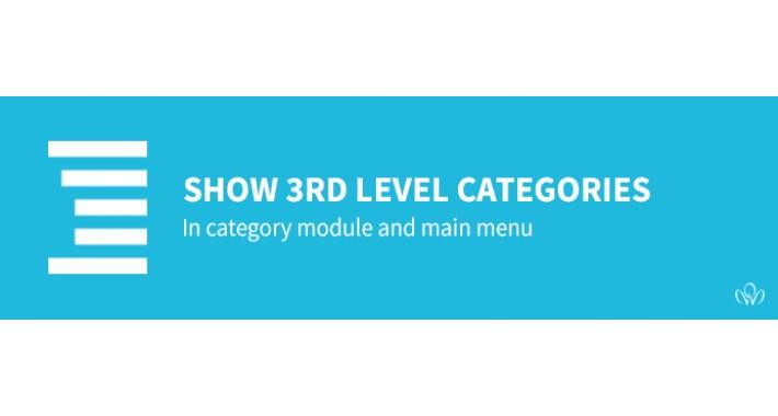 Show 3rd level categories in category module [OCmod]