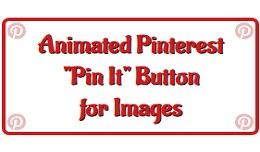 "Animated Pinterest ""Pin It"" Button for.."
