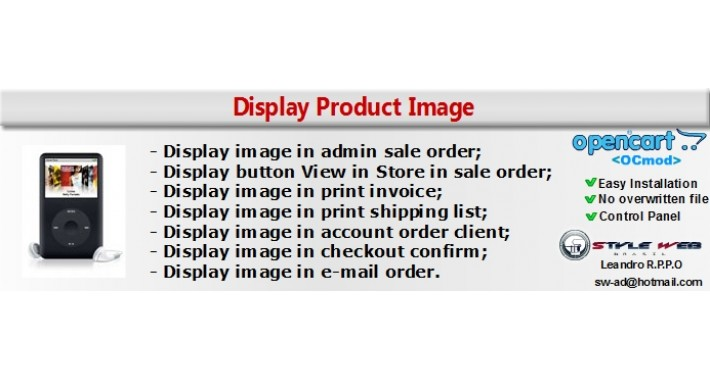 Display Product Image