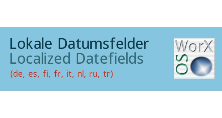 Localized Datefields