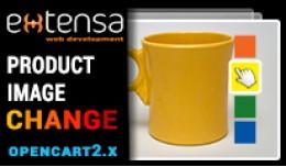 Product Image Change (Opencart 2.x)