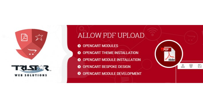 Allow PDF Upload