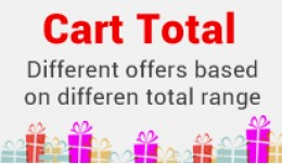 Cart total : Different Discount Over X price
