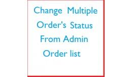 Update Multiple Order-Status from Order list