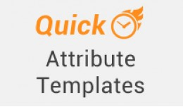Quick Attribute Templates: Quickly Apply On Prod..