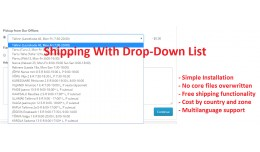 Advanced Drop-Down Shipping Method