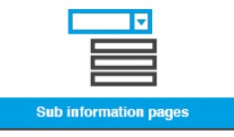 Sub Information Pages - Information Page Parents
