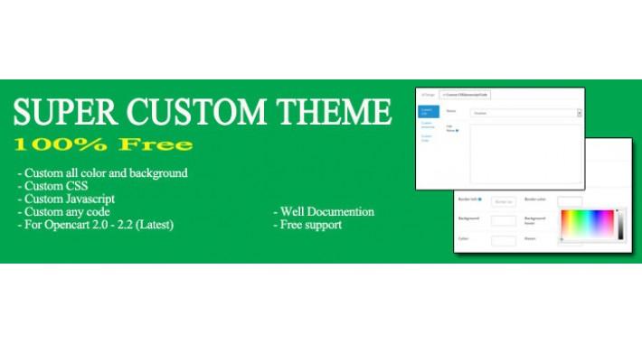 Super custom theme