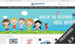 Magnum Responsive Opencart Theme