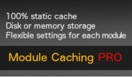 Module Caching PRO