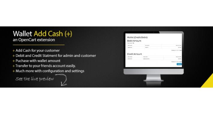 Wallet - Add/Transfer Cash Wallet