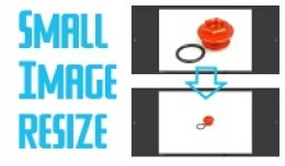 Small image resize