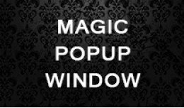 Magic Popup Window (OC 2.x)