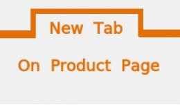 New Tab On Product Pages : Add Your Customized C..