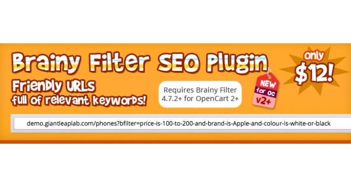 Brainy Filter SEO add-on